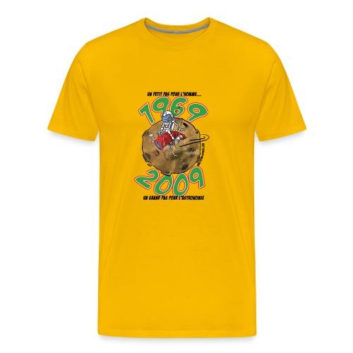 conquete texte noir - T-shirt Premium Homme