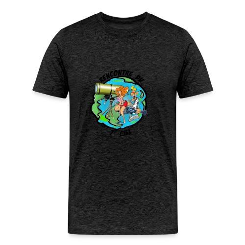 7ciel texte noir - T-shirt Premium Homme