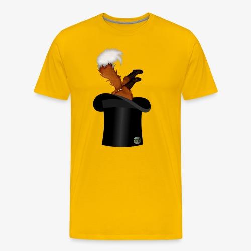 Mikkel Rev - Premium T-skjorte for menn