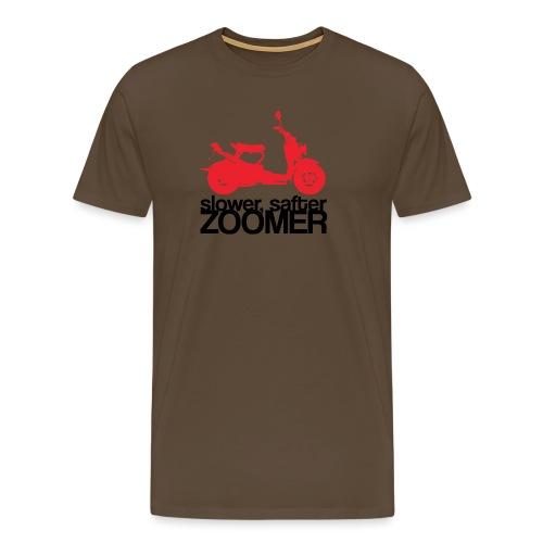 Slower faster zoomer - T-shirt Premium Homme