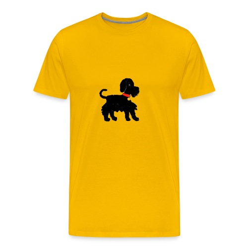 Schnauzer dog - Men's Premium T-Shirt