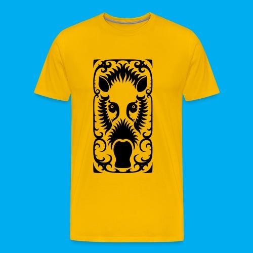 Bearded Pig - Men's Premium T-Shirt
