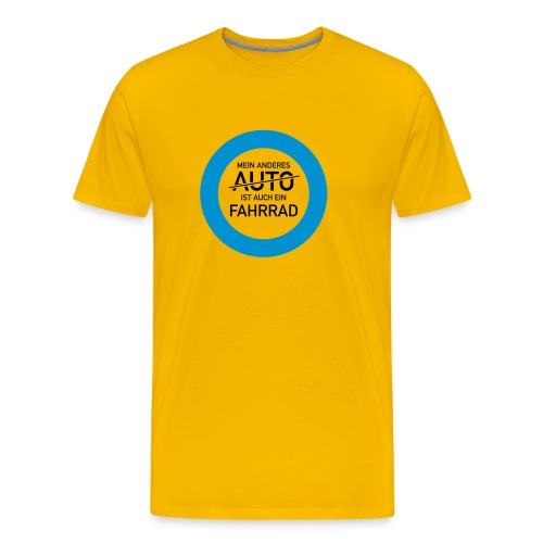 Auto? Fahrrad! - Männer Premium T-Shirt