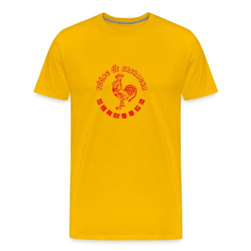 sriracha sauce merch - Premium-T-shirt herr