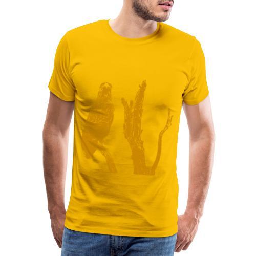 Seeadler auf Baum - Männer Premium T-Shirt