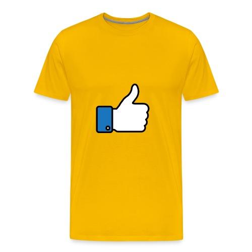 Like a like! - Maglietta Premium da uomo