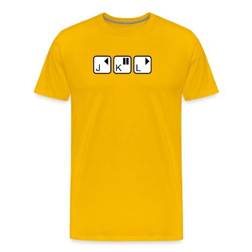 jkl - Men's Premium T-Shirt