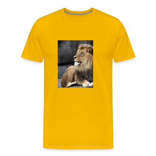 Lion - Maglietta Premium da uomo
