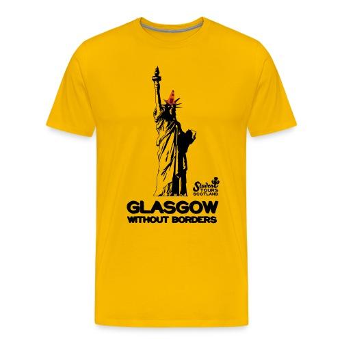 Glasgow Without Borders USA - Men's Premium T-Shirt