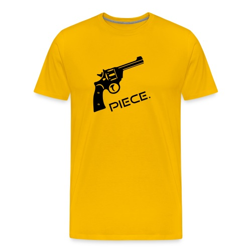 Waffe - Piece - Männer Premium T-Shirt