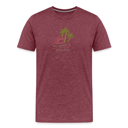 Summer paradise - Men's Premium T-Shirt