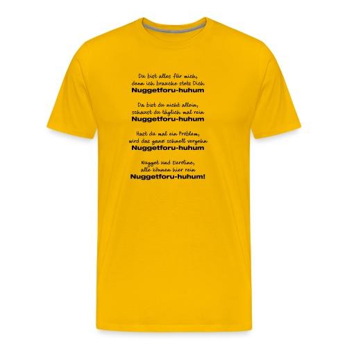 Du bist alles für mich - Männer Premium T-Shirt