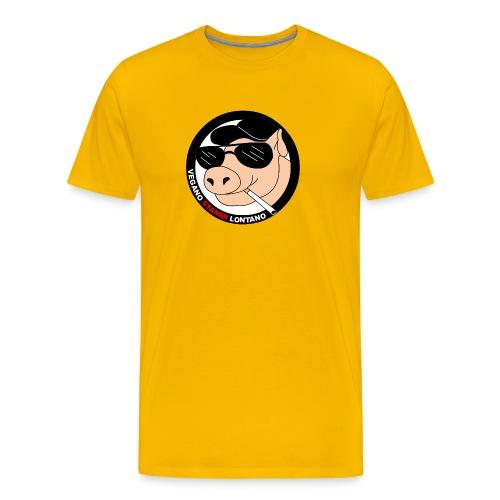 Maialefumettoso3 - Maglietta Premium da uomo