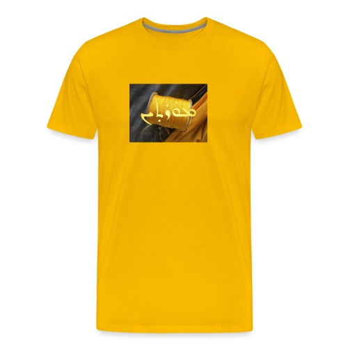 Mortinus Morten Golden Yellow - Men's Premium T-Shirt