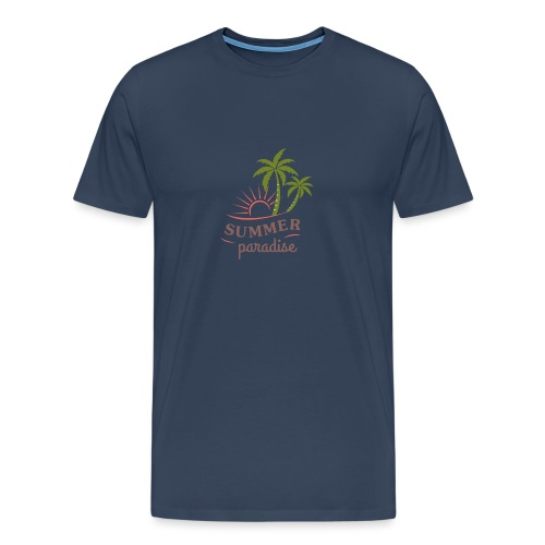 Summer paradise - Men's Premium T-Shirt