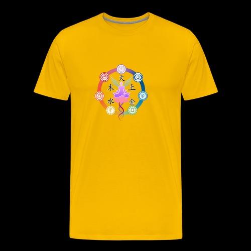armonia delle energie all colors - Maglietta Premium da uomo
