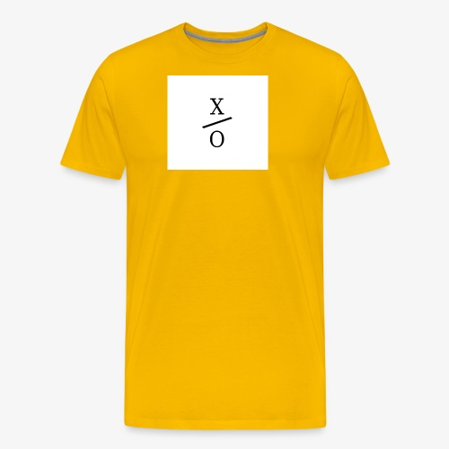 X/0 logo square - Premium-T-shirt herr