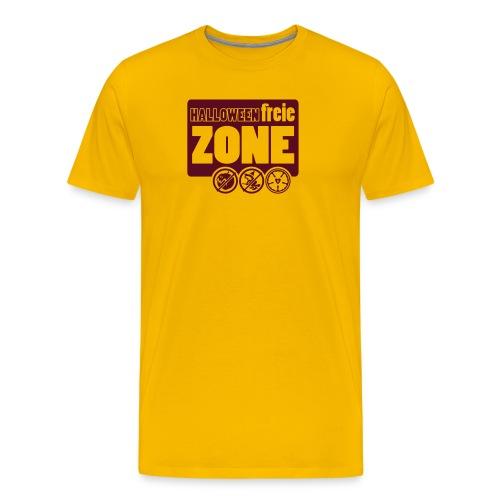 Halloweenfreie Zone - Männer Premium T-Shirt