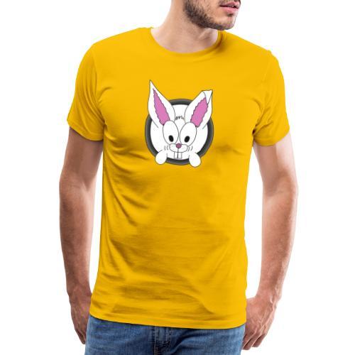 Das freundliche Kannchen nebenan white rabbit - Männer Premium T-Shirt