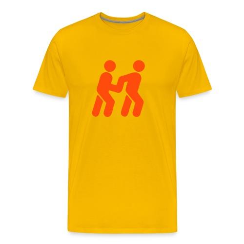 ledsagare - Premium-T-shirt herr