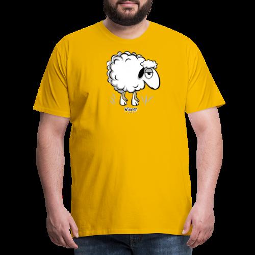 10-46 WINNER SHEEP - Products - Miesten premium t-paita