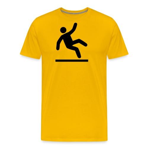 Liukas lattia - Miesten premium t-paita