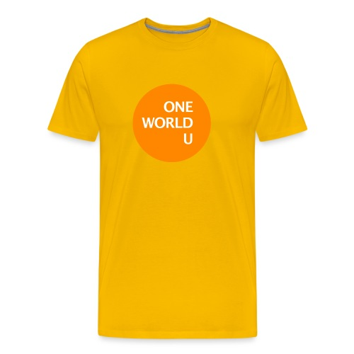 owu orange - Männer Premium T-Shirt