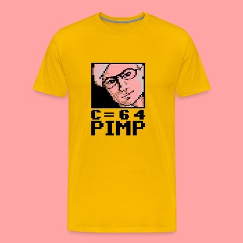 C64 Pimp David - Men's Premium T-Shirt