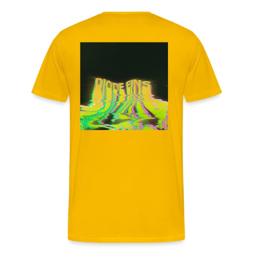 Funky Yellow - Männer Premium T-Shirt
