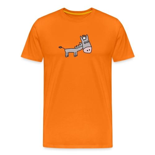 he1 - Miesten premium t-paita