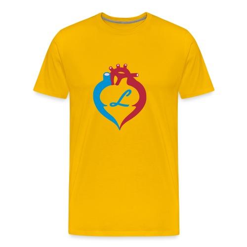logolaudes - Premium T-skjorte for menn