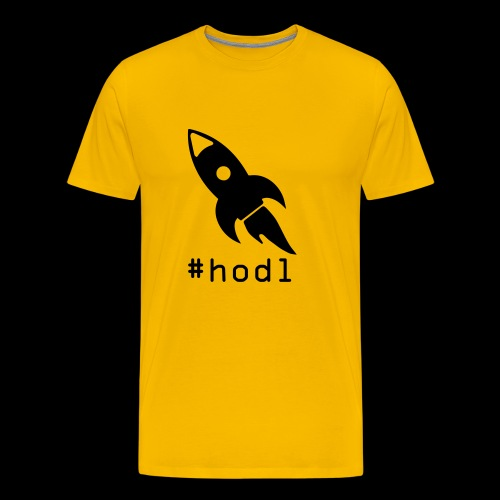 to the moon hodl - Männer Premium T-Shirt