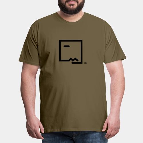 A-098 Bodo Zitrone - Männer Premium T-Shirt