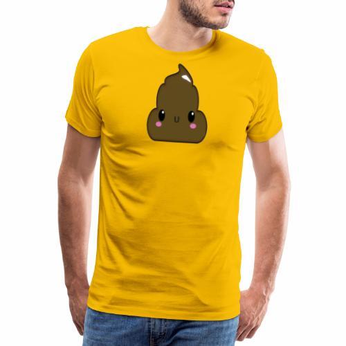 Poo - Herre premium T-shirt