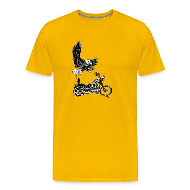 0906 eagle chopper knucklehead