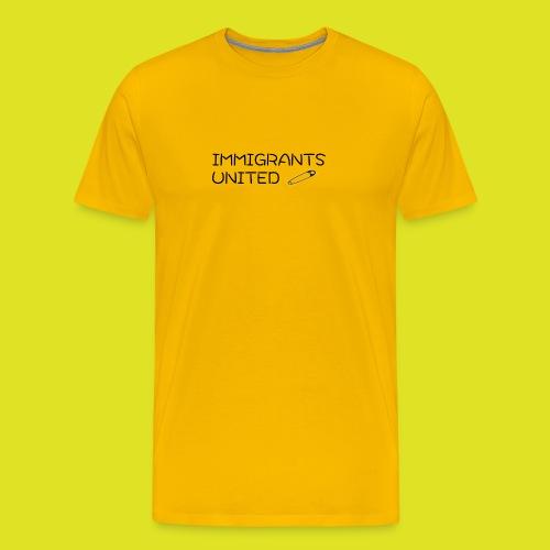Immigrants United 2 png - Men's Premium T-Shirt