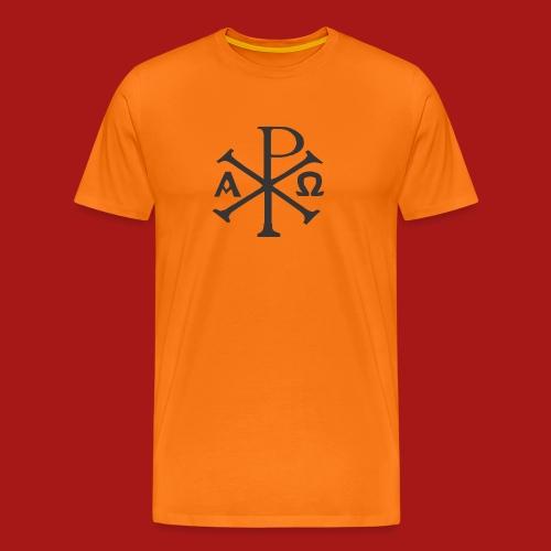 Kompasset-AP - Herre premium T-shirt
