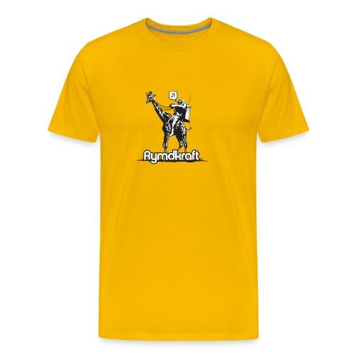 Rymdkraft Basic Happy Astronaut Tee - Men's Premium T-Shirt