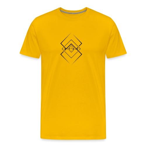 Izanami Minimal White - Männer Premium T-Shirt
