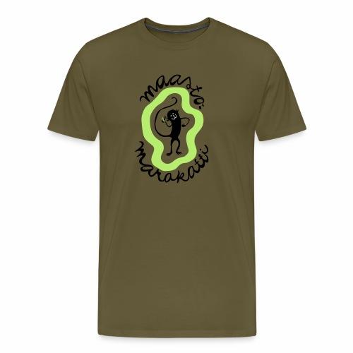 Maastomarakatti - Miesten premium t-paita