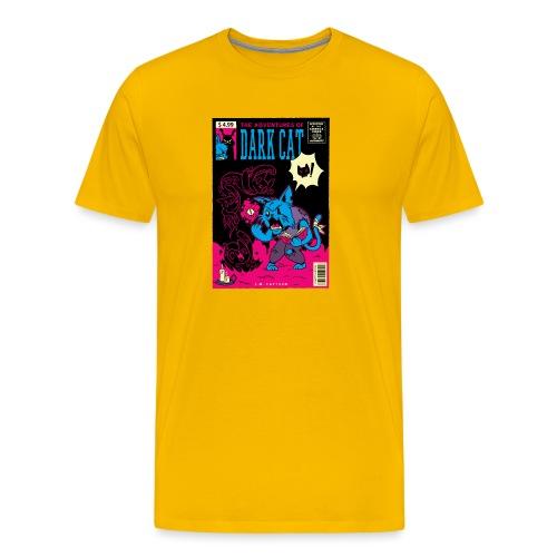 Las aventuras del gato oscuro - Camiseta premium hombre