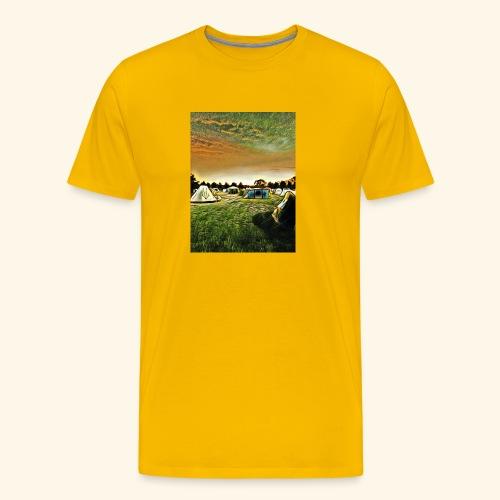 Die Zeltwiese - Männer Premium T-Shirt