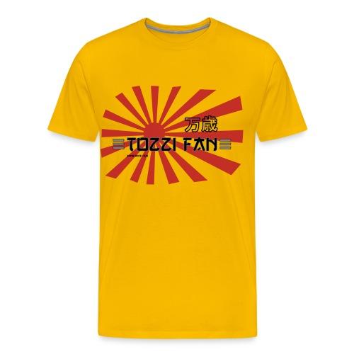 tozzifan_rosso_grigio_nuo - Men's Premium T-Shirt
