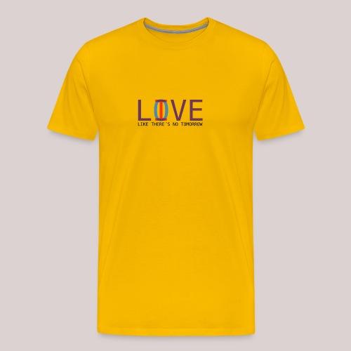 14-30 Love Live YOLO - Männer Premium T-Shirt