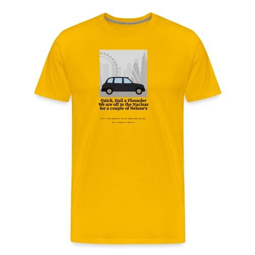 Flounder - Men's Premium T-Shirt