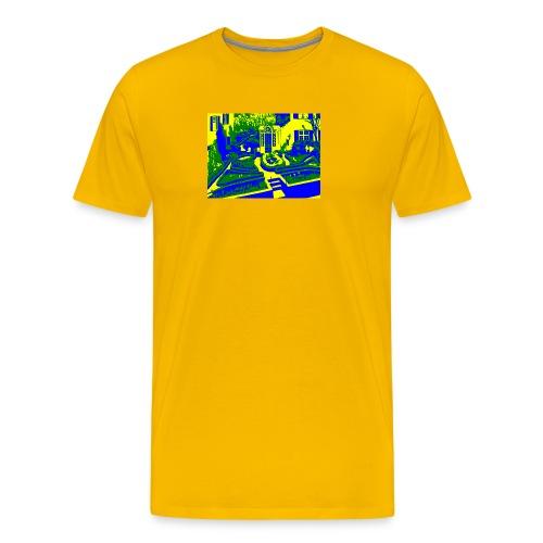 Adolf Dietrich Garten - Männer Premium T-Shirt
