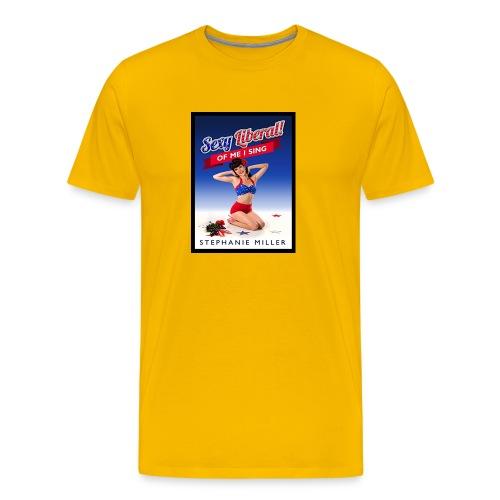 Stephanie Politics - Mannen Premium T-shirt