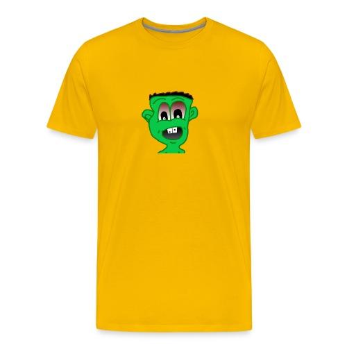 jannemasa youtube logo - Miesten premium t-paita