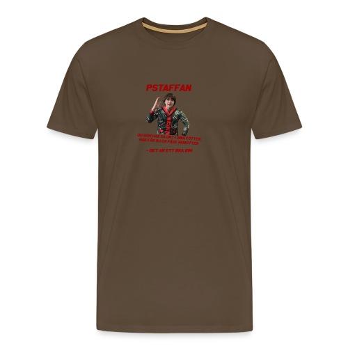fötter morötter rim - Premium-T-shirt herr