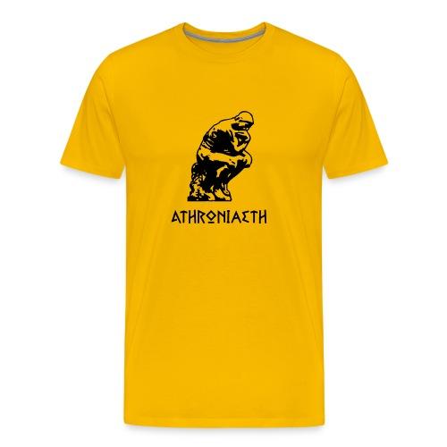 Athroniaeth - Men's Premium T-Shirt